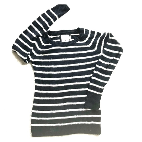 937ab00d3 H&M Sweaters | Hm Striped Sweater | Poshmark